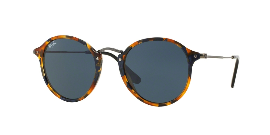 RAY-BAN RB2447 ROUND/CLASSIC style-color 1158R5 Spotted Blue Havana