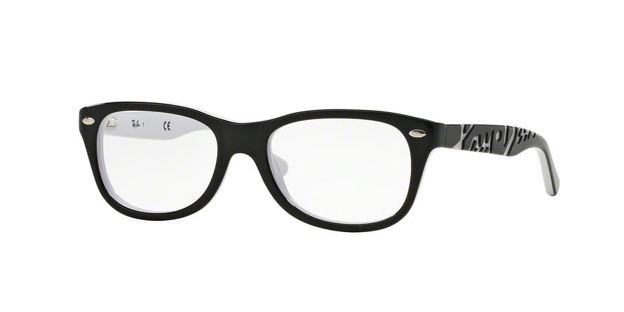 RAY-BAN RY1544 style-color 3579 Top Black ON White