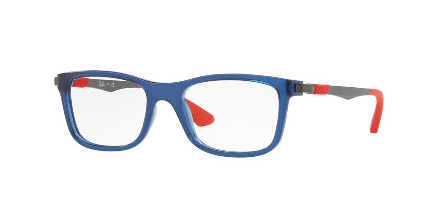 RAY-BAN RY1549 style-color 3734 Trasparent Blue