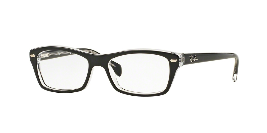 RAY-BAN RY1550 style-color 3529 Top Black ON Transparent