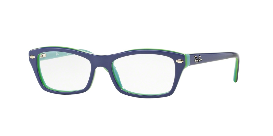 RAY-BAN RY1550 style-color 3657 Top Violet ON Green Azure