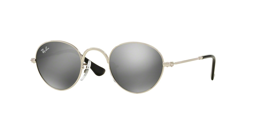 RAY-BAN RJ9537S JUNIOR ROUND style-color 212/6G Shiny Silver