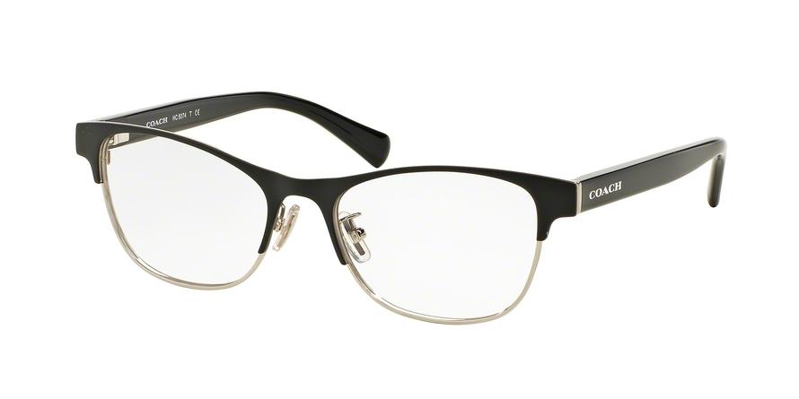 COACH HC5074 style-color 9239 Satin Black Silver / Black