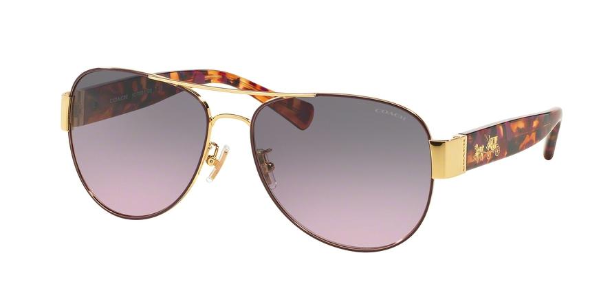 COACH HC7059 L138 style-color 924890 Gold Purple / Purple Confetti