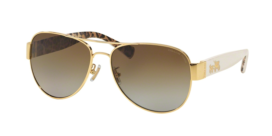 COACH HC7059 L138 style-color 9249T5 Gold / Ivory Wild Beast