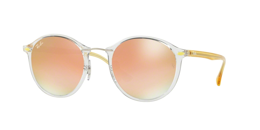 RAY-BAN RB4242 ROUND II LIGHT RAY style-color 6288B9 Trasparent