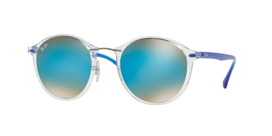 RAY-BAN RB4242 ROUND II LIGHT RAY style-color 6289B7 Trasparent