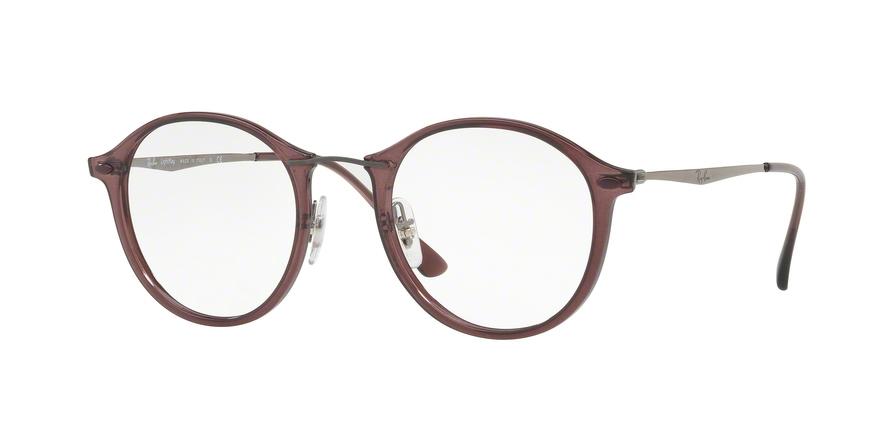 RAY-BAN RX7073 style-color 5740 Opal Bordeaux