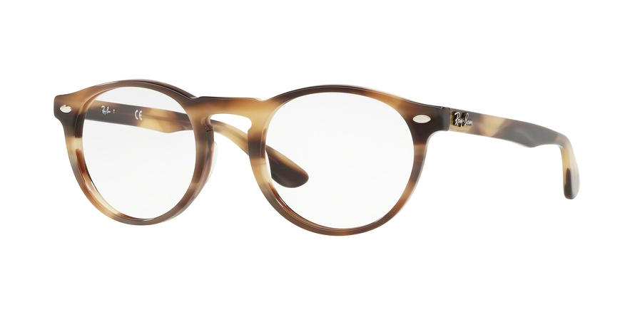 RAY-BAN RX5283 style-color 5775 Horn Beige Brown