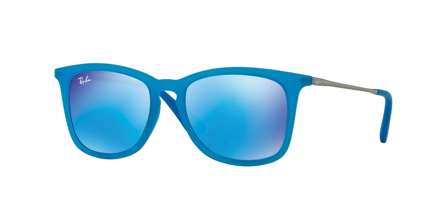 RAY-BAN RJ9063S style-color 701155 Azure Fluo Trasp Rubber