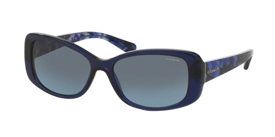 COACH HC8168 L156 style-color 534917 Navy / Blue Black Mosaic