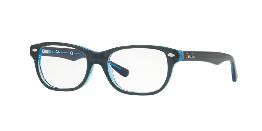 RAY-BAN RY1555 style-color 3667 Top Blue ON Blue Fluo