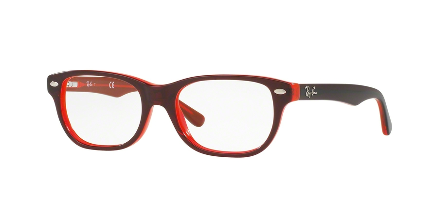 RAY-BAN RY1555 style-color 3664 Top Red ON Red Fluo