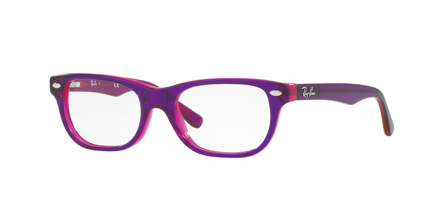 RAY-BAN RY1555 style-color 3666 Top Violet ON Fuxia Fluo