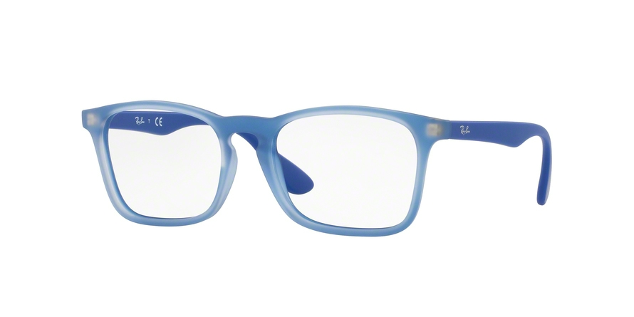 RAY-BAN RY1553 style-color 3668 Rubber Elettric Blue