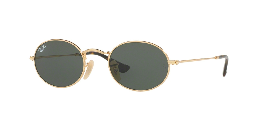 RAY-BAN RB3547N OVAL style-color 001 Gold