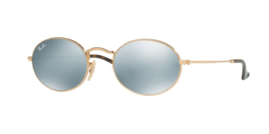 RAY-BAN RB3547N OVAL style-color 001/30 Gold