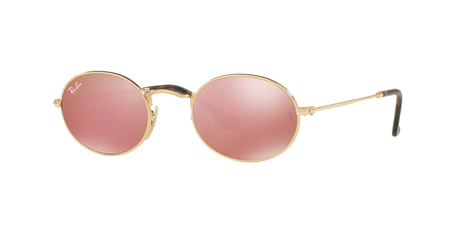 RAY-BAN RB3547N OVAL style-color 001/Z2 Gold