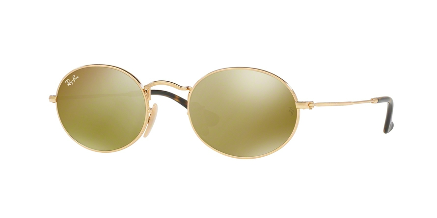 RAY-BAN RB3547N OVAL style-color 001/93 Gold