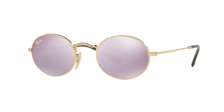 RAY-BAN RB3547N OVAL style-color 001/8O Gold