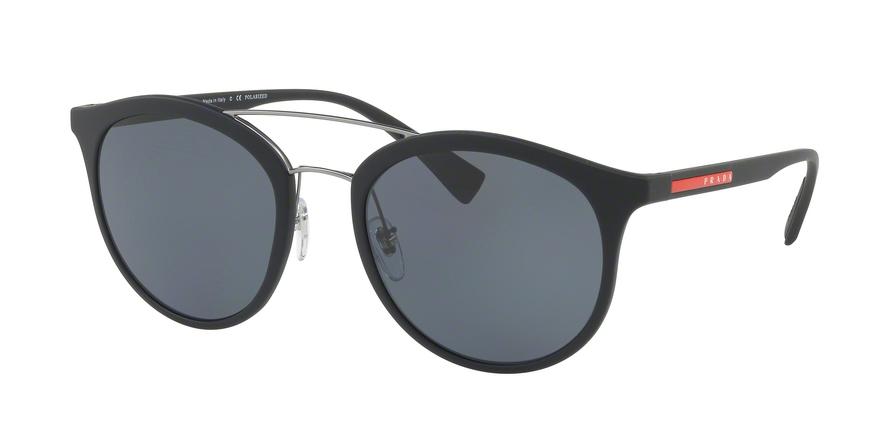 PRADA LINEA ROSSA PS 04RS style-color DG05Z1 Black Rubber