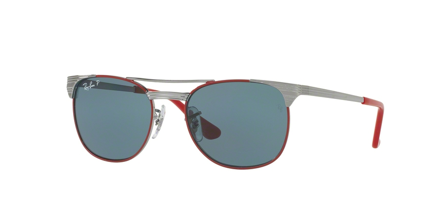RAY-BAN RJ9540S style-color 218/2V Gunmetal Top Red