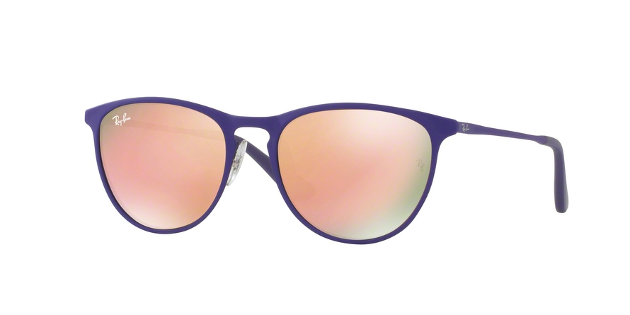 RAY-BAN RJ9538S JUNIOR ERIKA METAL style-color 252/2Y Rubber Brown / Violet