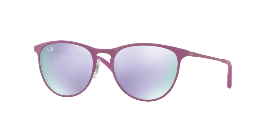 RAY-BAN RJ9538S JUNIOR ERIKA METAL style-color 254/4V Rubber Grey /  Pink