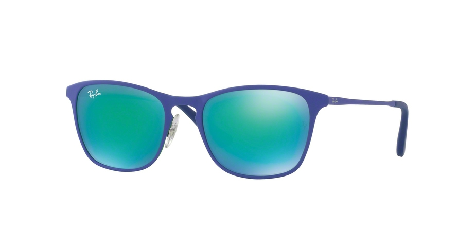 RAY-BAN RJ9539S style-color 255/3R Rubber Green / Blue