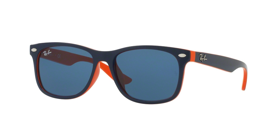 RAY-BAN RJ9052SF RJ9052S ASIAN FIT style-color 178/80 Top Blue ON Orange