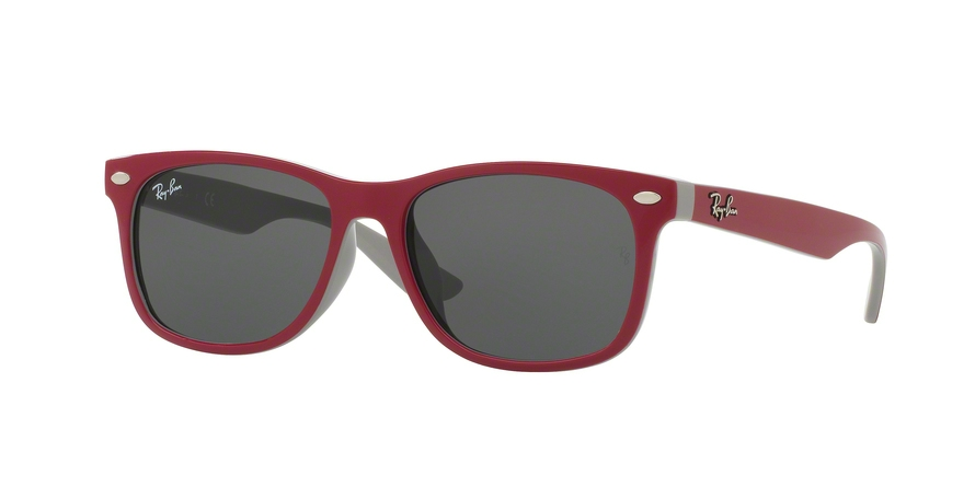 RAY-BAN RJ9052SF RJ9052S ASIAN FIT style-color 177/87 Top Red Fuxia ON Gray