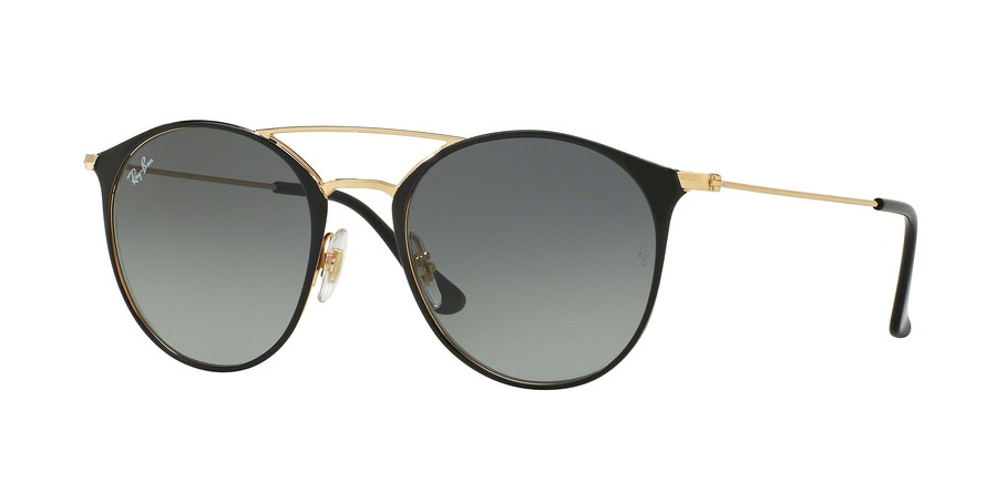 RAY-BAN RB3546 style-color 187/71 Gold Top Black
