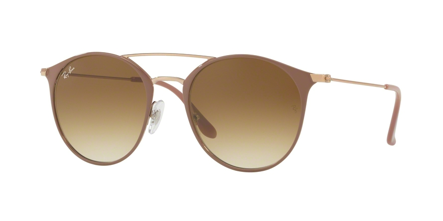 RAY-BAN RB3546 style-color 907151 Copper Top ON Beige