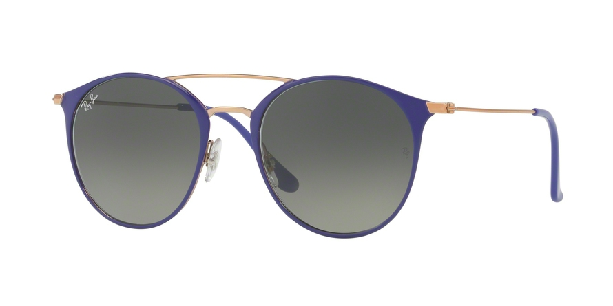 RAY-BAN RB3546 style-color 9073A5 Copper ON Top Violet