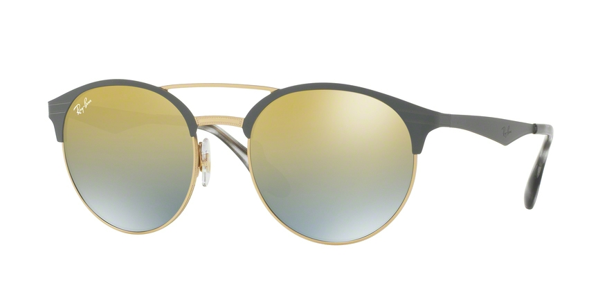 RAY-BAN RB3545 style-color 9007A7 Gold / Matte Grey