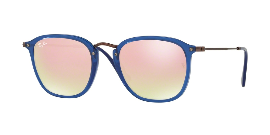 RAY-BAN RB2448N style-color 62547O Trasparent Blue