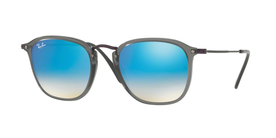 RAY-BAN RB2448N style-color 62554O Trasparent Grey