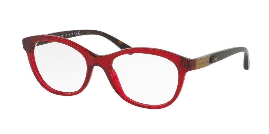 RALPH LAUREN RL6157Q style-color 5623 Trasparent Red