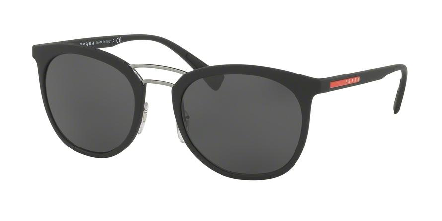 PRADA LINEA ROSSA PS 04SS style-color DG05S0 Black Rubber