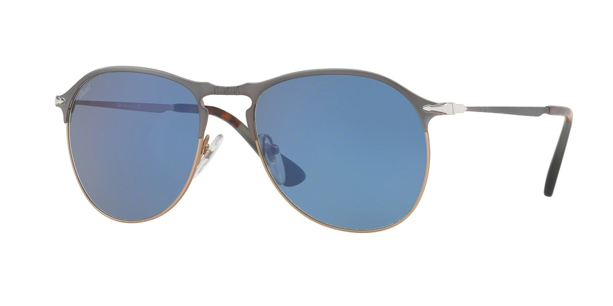 PERSOL PO7649S style-color 107156 Blue / Light Brown