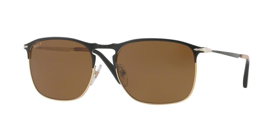 PERSOL PO7359S style-color 107057 Matte Black / Gold