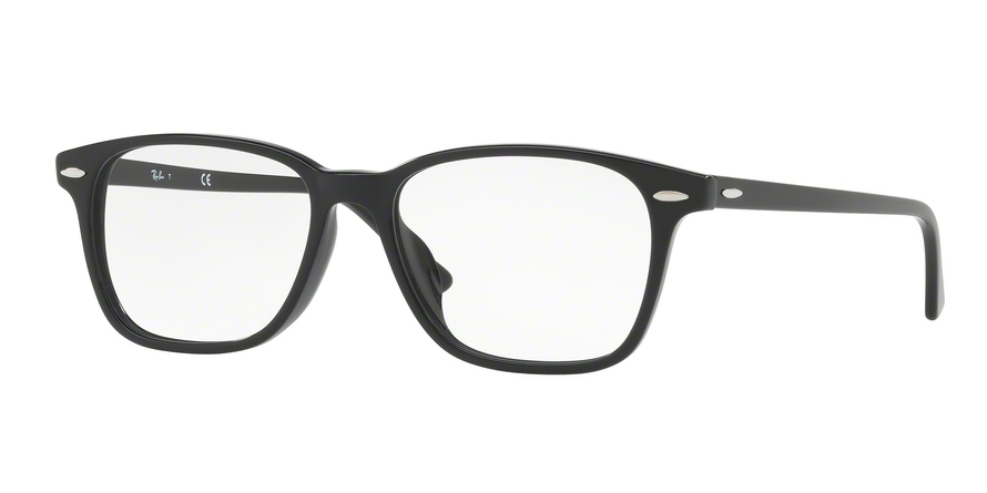 RAY-BAN RX7119F ASIAN FIT style-color 2000 Black