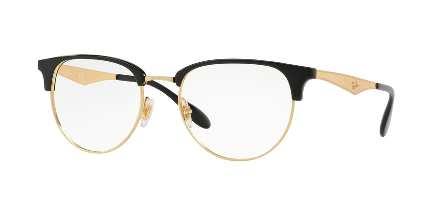 RAY-BAN RX6396 style-color 5784 Black / Gold