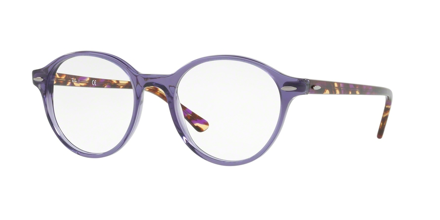 RAY-BAN RX7118 DEAN style-color 8020 Trasparent Violet