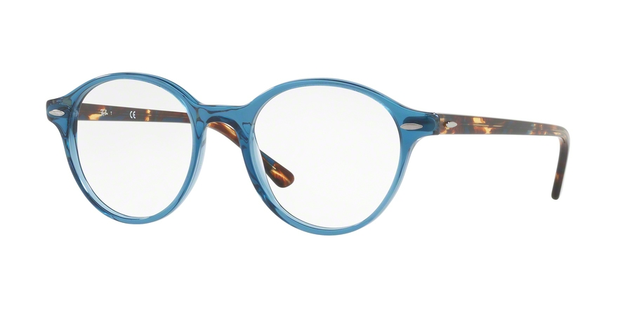 RAY-BAN RX7118 DEAN style-color 8022 Trasparent Grey / Blue
