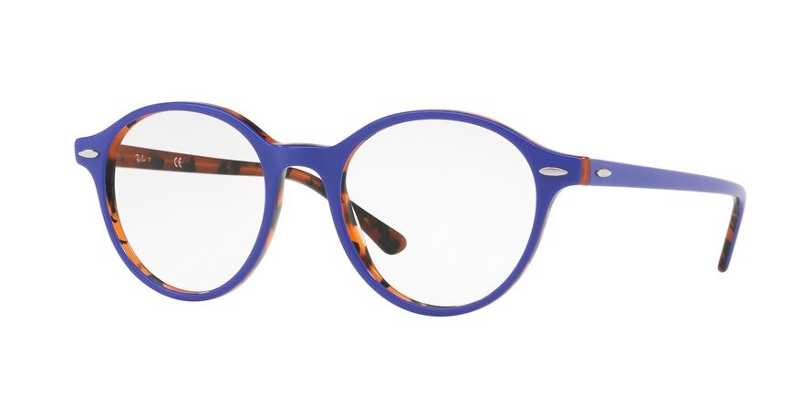 RAY-BAN RX7118 DEAN style-color 5716 Top Violet ON Havana Orange