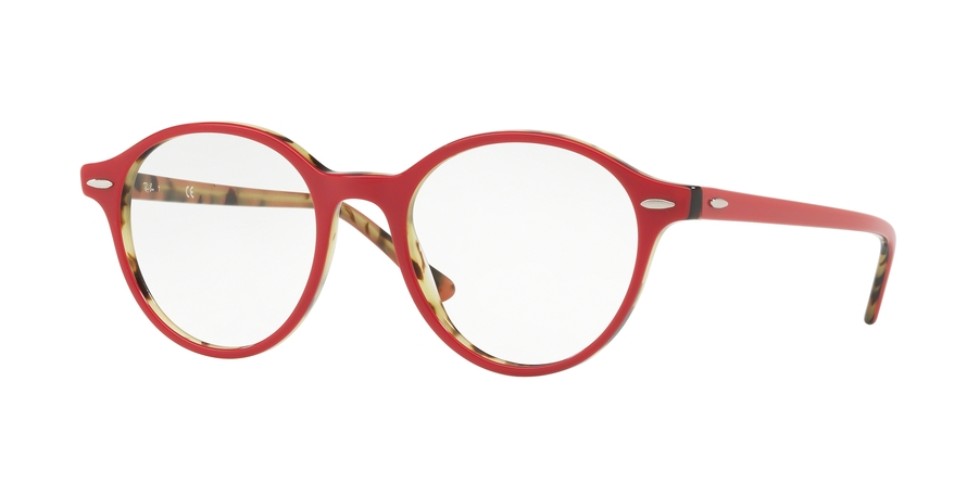RAY-BAN RX7118 DEAN style-color 5714 Top Bordeaux ON Havana Green