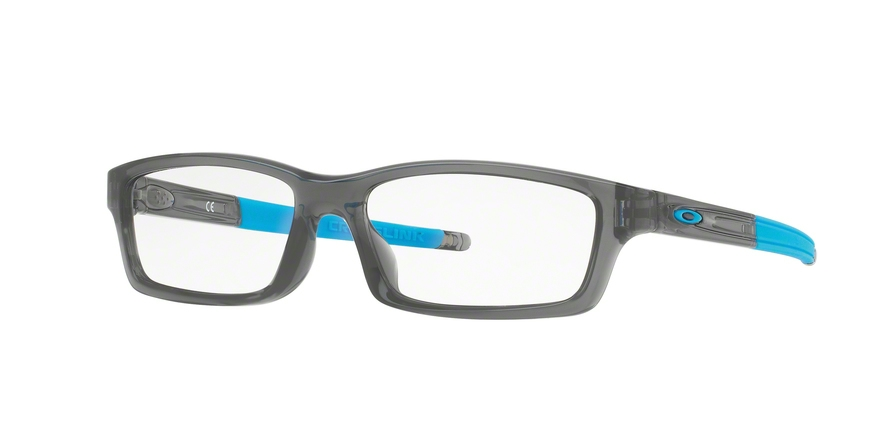 OAKLEY CROSSLINK YOUTH (A) OX8111 ASIAN FIT style-color 811102 Polished Grey Smoke