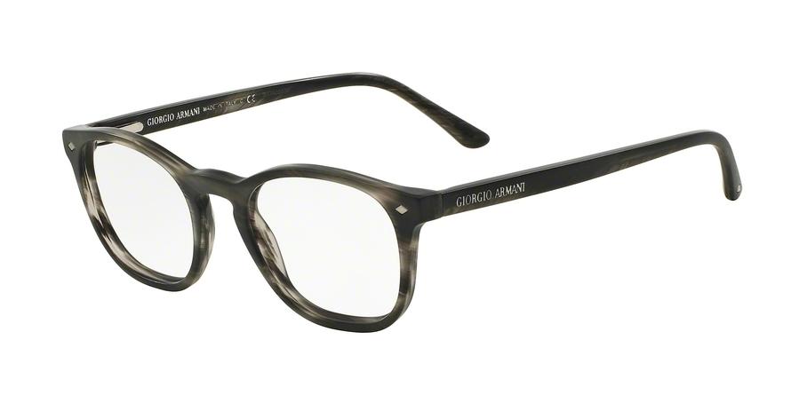 GIORGIO ARMANI AR7074 style-color 5403 Striped Matte Grey