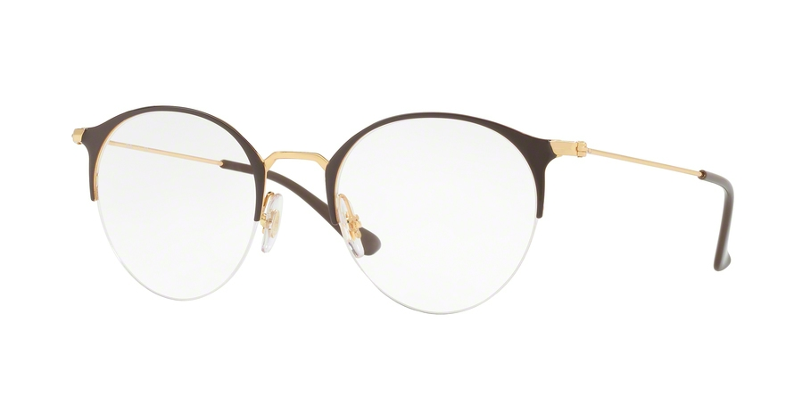 RAY-BAN RX3578V style-color 2905 Gold / Shiny Brown